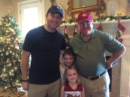 Picture with 2 of my nieces and Dad!