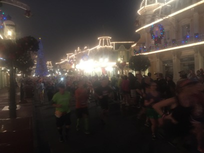 Blurry but Main Street USA