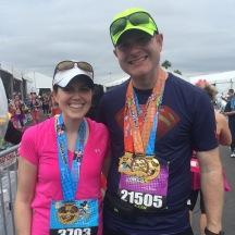 Marathon (Dopey) Finisher Pic
