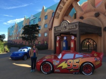 The Car's themed area