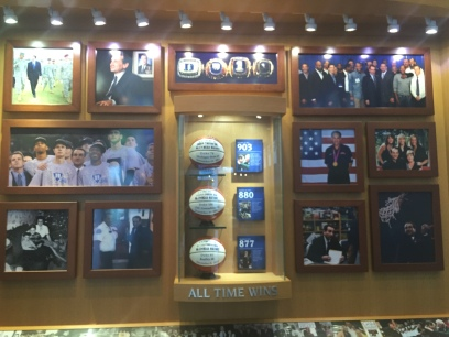 Part of the Duke Basketball Museum