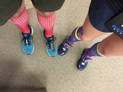 We love Pro Compression socks!