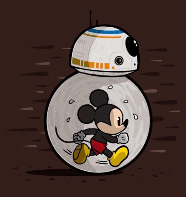 Dark Side Half BB8 Pic