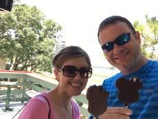Mickey Ice Cream Bars!