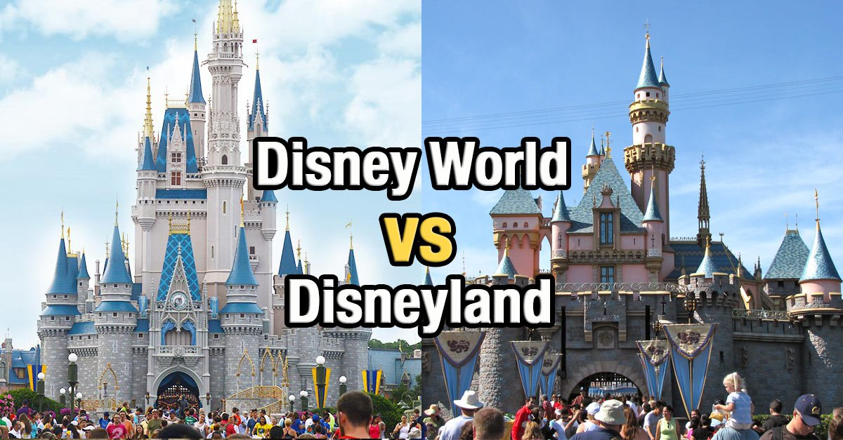 disneyland versus disneyworld In the smackdown between america's magic kingdoms, i've always wondered whether it's cheaper for travelers to visit disneyland in anaheim or disney world in orlando, fla.
