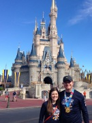 Cinderella's Castle! Beautiful in the daytime...
